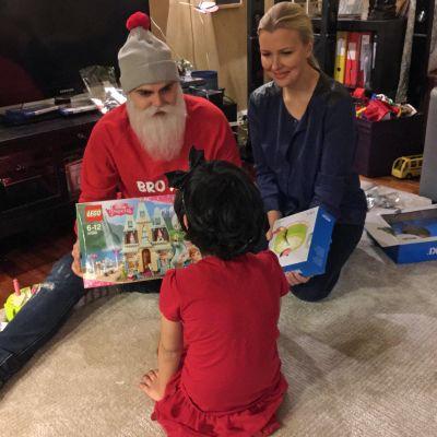 Brother Christmas ja Alexandra Procopé