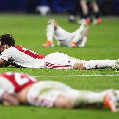 Ajax var väldigt nära Champions League-final.