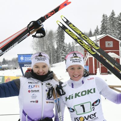 Vilma Nissinen ja Katri Lylynperä