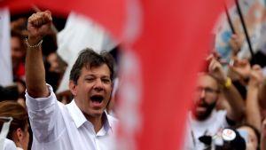 Den brasilianska politikern Fernando Haddad.