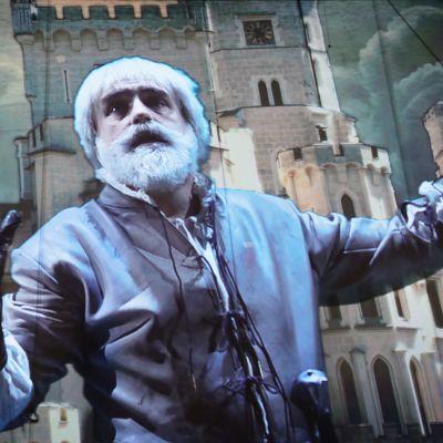 Kustaa Vaasaa esittää kreikkalaissyntyinen tenori Mario Zeffiri. Kustaa Vaasa -ooppera. HeBo
