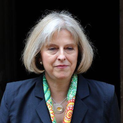 Storbritanniens inrikesminister Theresa May