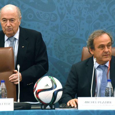 Sepp Blatter, Michel Platini