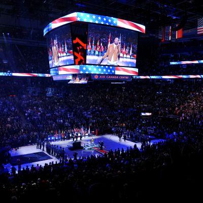 NBA:n all-star-ottelu pelattiin 2016 Torontossa.