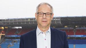 Lars Lagerbäck presenteras som ny norsk förbundskapten.