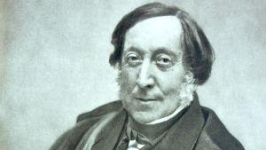 Säveltäjä Gioachino Rossini