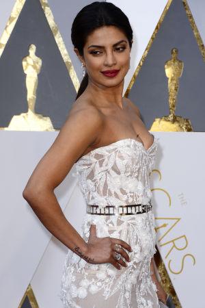 Priyanka Chopra på Oscarsgalan 2016.