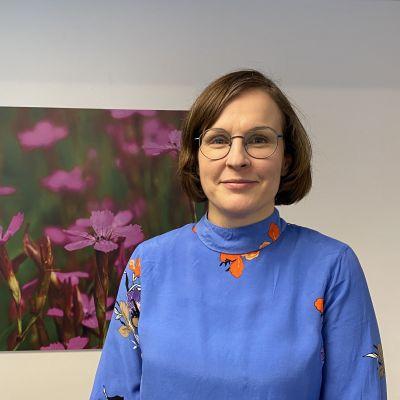 Kainuun TE-toimiston johtaja Tiina Veijola.