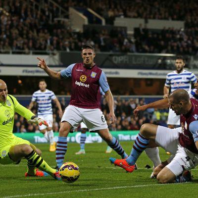 QPR-Aston Villa, 27.10.2014