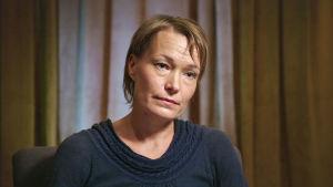 Linda Karlström från Kronoby är en ledande gestalt inom antivaccinationsrörelsen i Norden.
