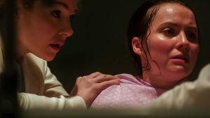 Nuori nainen synnyttää Stanton Housessa