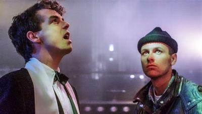 Neil Tennant ja Chris Lowe. Kuva elokuvasta It Couldn't Happen Here.