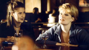 Minna Suuronen ja Maija Junno elokuvassa Rakastin epätoivoista naista.