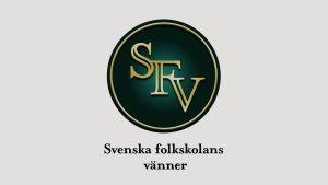 Svenska folkskolans vänners logo.