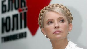 Ukrainas premiärminister Julia Tymosjenko