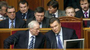 Mikola Azarov och Viktor Janukovitj