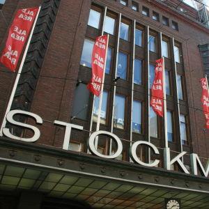 Stockmanns varuhus i centrum av Helsingfors.