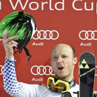 Alexander Chorosjilov vann i Schladming.