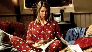 Bild på Renée Zellweger ur den första Bridget Jones-filmen.