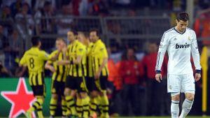 Cristiano Ronaldo och Real inför tuff uppgift.