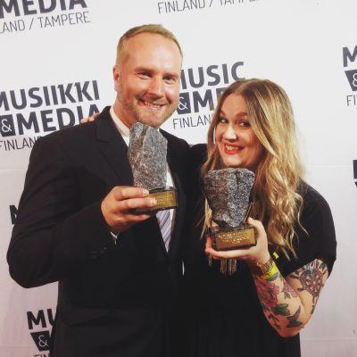 Ylen palkittuja Industry Awards 2015 -gaalassa