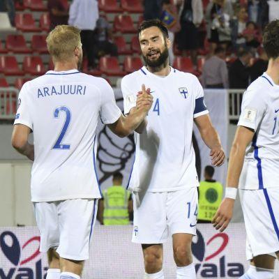 Finland slog Kosovo i VM-kvalet i fotboll.