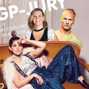 Märta Westerlund, Jannika B och Kasper Ramström är årets MGP-jury