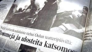 Lehtileike Oulun teatteripäiviltä