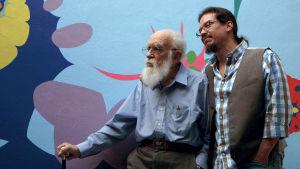 James Randi ja Deyvi Pena