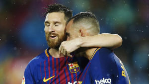 Lionel Messi, Paco Alcácer.