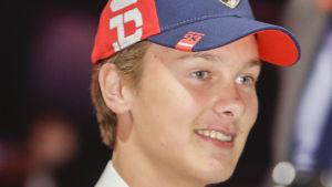 Henrik Borgström draftas av Florida Panthers.