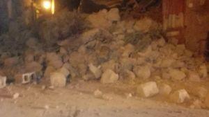Badorten Casamicciola på den norra delen av ön drabbades värst.