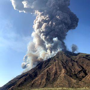 Vulkanutbrottet.