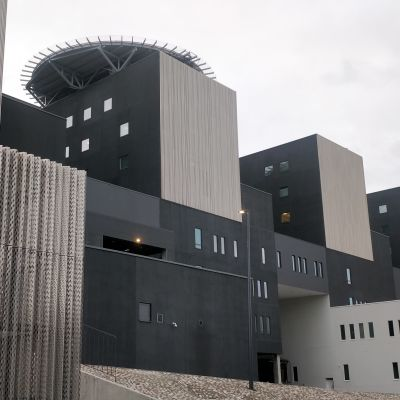 Sairaala Novan uudisrakennus Jyväskylässä.