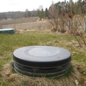 Brunnar i glesbygden i Ingå.