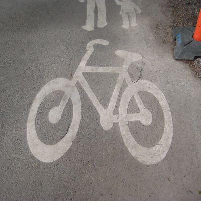Cykelväg.