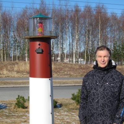 Raimo Hentelä, ordförande för Yxpila invånarförening