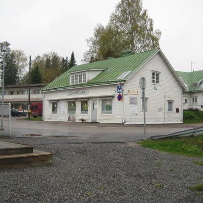 Laserhuset i Ingå.