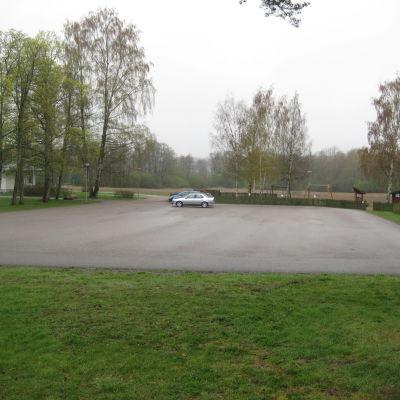Ingå församlings nya tomter ska byggas i närheten av församlingshemmet.