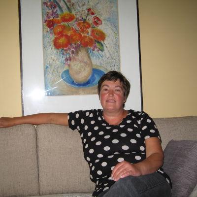 Förskolelärare Gunilla Hiltunen i Jakobstad