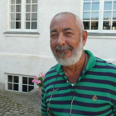 Den kubanska författaren Leonardo Padura
