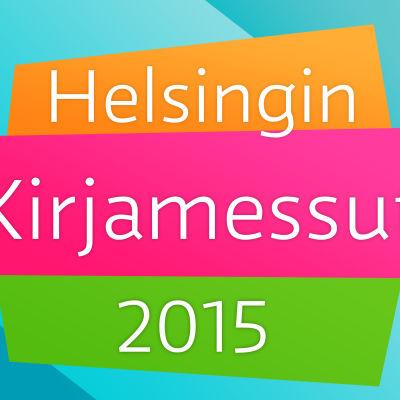 Logokuva Helsingin kirjamessut 2015
