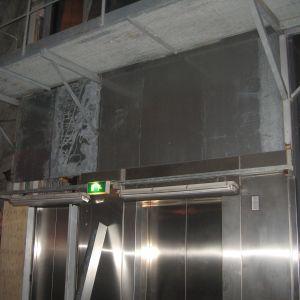 Kones hisslaboratorium i Tytyri gruva med 330 meter lång hiss för skyskrapor.