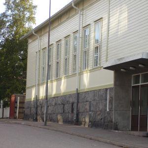 Nyrenoverade och -målade Brankis i Hangö.
