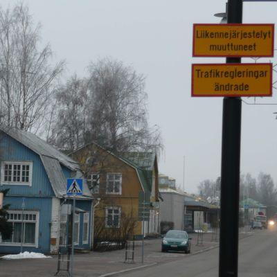 Stora byvägen i Nickby, Sibbo