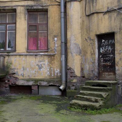 Ett hus i Viborg