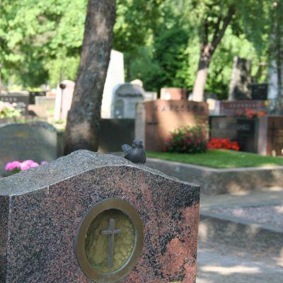 Gravstenar på gravgården i Näsebacken, Borgå