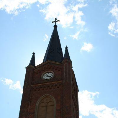 Lovisa kyrka, tornet