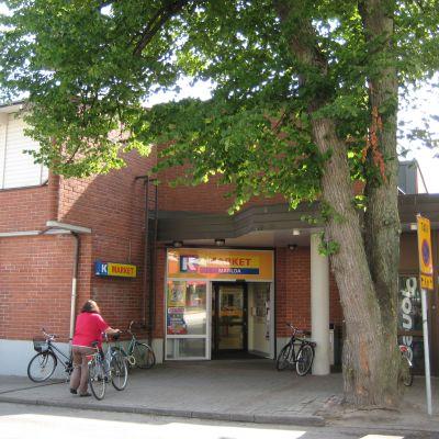 K-market Matilda i Ekenäs.