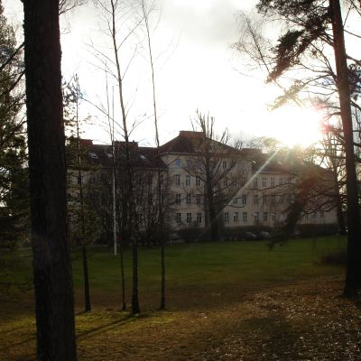 Ekåsens psykiatriska sjukhus,  huvudbyggnaden.